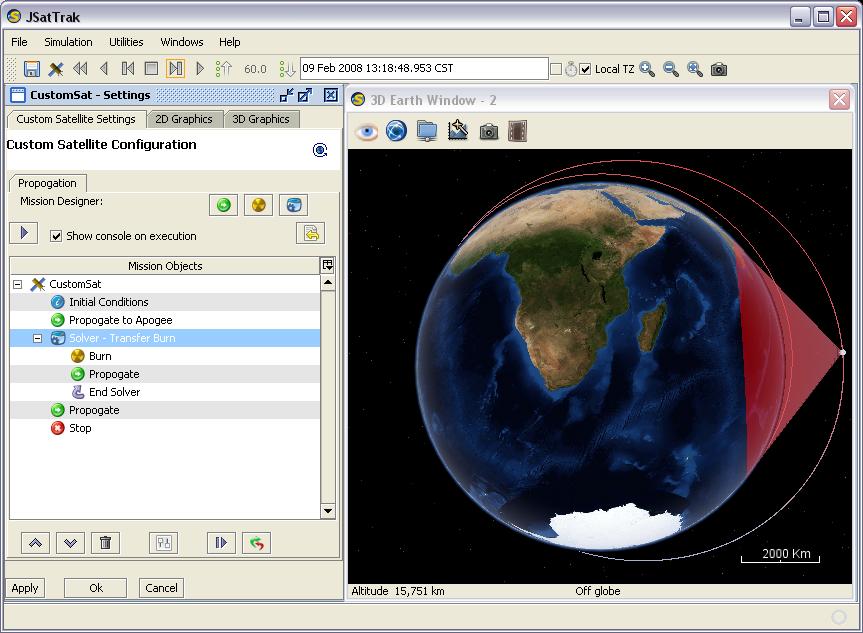 JSatTrak - Java Satellite Tracker by Shawn Gano